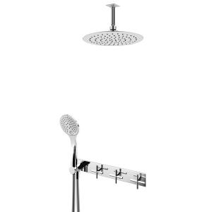 Душевой набор скрытого монтажа и ручным душем