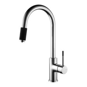 Смеситель кухонный 2в1 с подключением питьевой воды