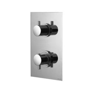 Смеситель термостатический скрытого монтажа на 3 выхода