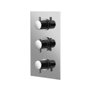 Смеситель термостатический скрытого монтажа на 4 выхода