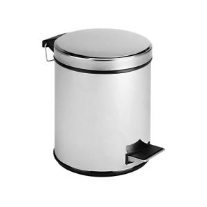Контейнер для мусора с крышкой и педалью 7 л.