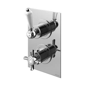 Смеситель термостатический скрытого монтажа на 2 выхода